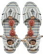 Image 3 ofMiss L-Fire Capri Beaded Sandal