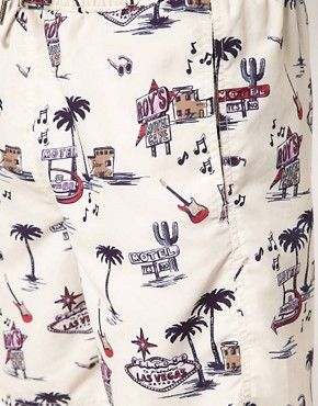 Image 3 ofRiver Island Scott Swim Motel Print