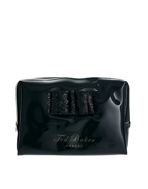 Image 1 ofTed Baker Glitter Bow Large Washbag
