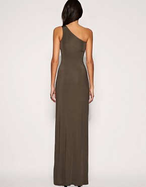Image 2 ofASOS Embellished Hip Slinky Maxi Dress