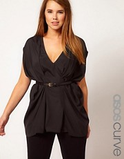 ASOS CURVE Origami Top
