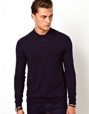 Image 1 ofASOS Knitted Polo
