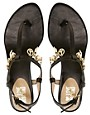 Image 3 ofLove Moschino Lady Love Charmes Flat Sandals