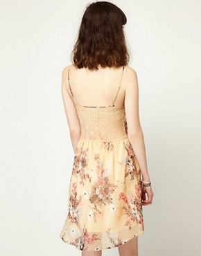 Image 2 ofLottie and Holly Slip Dress in Chiffon Floral
