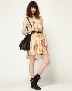 Image 4 ofLottie and Holly Slip Dress in Chiffon Floral