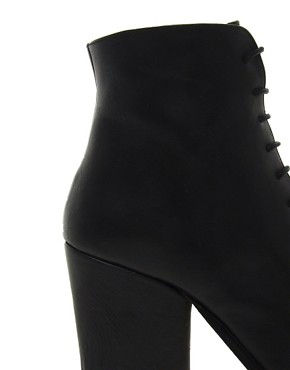 Image 2 ofD.Co Copenhagen Mascara Lace Up Mid Heeled Boot