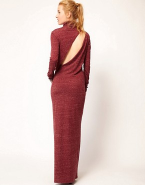 Image 2 ofDiesel Roll Neck Maxi Dress