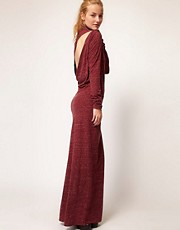 Diesel Roll Neck Maxi Dress