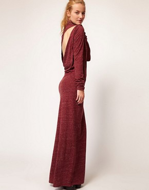 Image 1 ofDiesel Roll Neck Maxi Dress