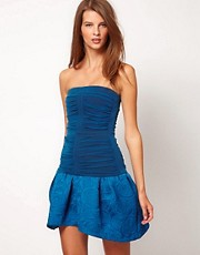 Camilla &amp; Marc Dress with Gathered Mesh