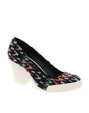 ASOS SALVADOR Mid Heeled Shoes