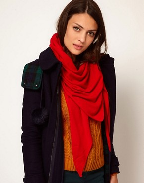 Image 1 ofGanni Grace Cashmere Scarf