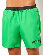 Boss Black Green Starfish Swim Short