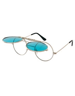 Image 2 ofSpitfire Round Sunglasses