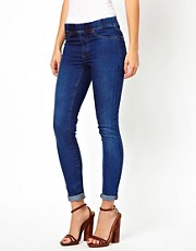 Warehouse Blue Wash Jegging