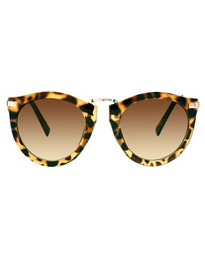 Bild 2 von ASOS  bergroe Retro-Sonnenbrille mit Metallsteg
