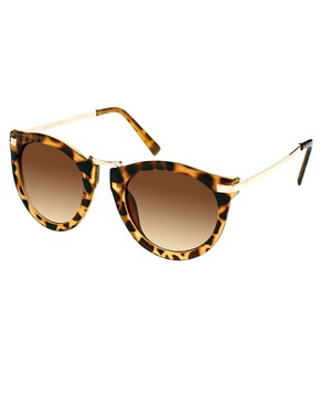 Bild 1 von ASOS  bergroe Retro-Sonnenbrille mit Metallsteg