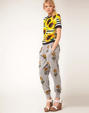 Image 1 ofAshish Sweatpant With Printed Marigold