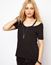 River Island Peekaboo Tee