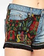 Image 3 ofFreak Of Nature Tequila Slammer Denim Shorts