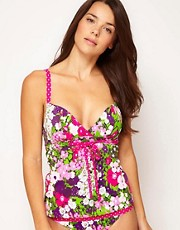 Tankini escotado suave Eden de Freya