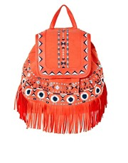 ASOS Fringe Detail Backpack