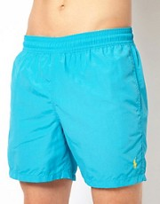 Polo Ralph Lauren Turquoise Hawaiian Swim Shorts