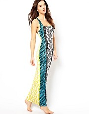 Mara Hoffman Luau Print Maxi Dress