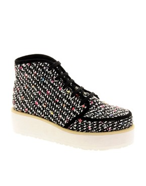 Image 1 ofASOS ALVI Flatform Ankle Boots