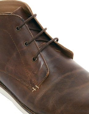 Image 2 ofASOS Chukka Boots With Wedge Sole