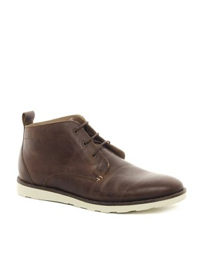 Image 1 ofASOS Chukka Boots With Wedge Sole