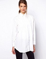 MIH Jeans Longline Shirt