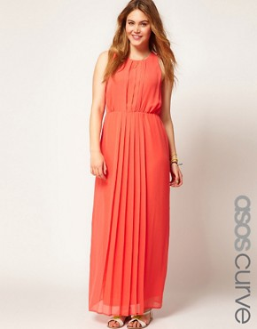 Image 1 ofASOS CURVE Maxi Dress