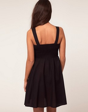 Image 2 ofASOS Maternity Cotton Dress with Sweetheart Neckline