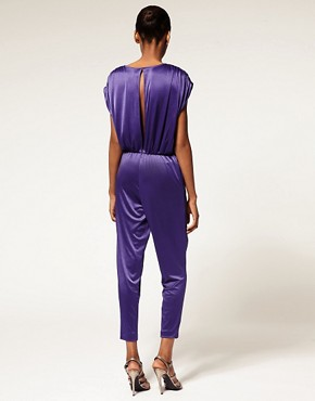 Image 2 ofHalston Heritage Shirred Jumpsuit