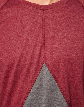Image 3 ofASOS T-Shirt With Insert Triangle