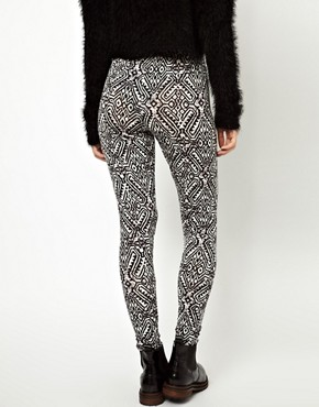 Image 2 ofASOS Legging in Tribal Print