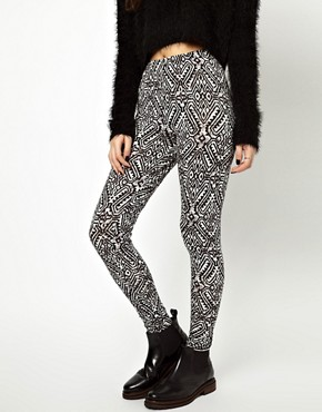 Image 4 ofASOS Legging in Tribal Print