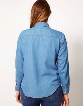 Image 2 ofASOS CURVE Denim Shirt