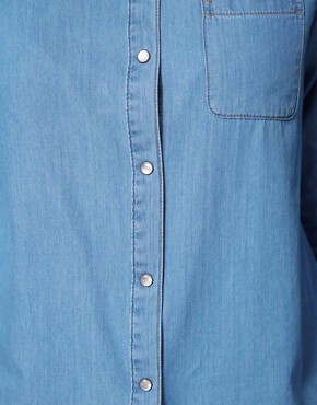 Image 3 ofASOS CURVE Denim Shirt