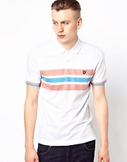 Lyle &amp; Scott Vintage Polo with Chest Stripe