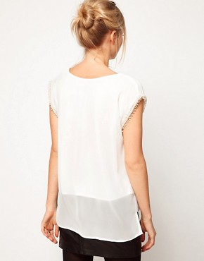 Image 2 ofLove Top with Pearl Embellished Sleeves
