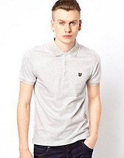 Lyle &amp; Scott Vintage Polo with Fine Stripe
