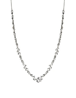 Image 1 ofLove Rocks Bubble Silver Necklace