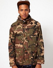 Criminal Damage Camo Jacket