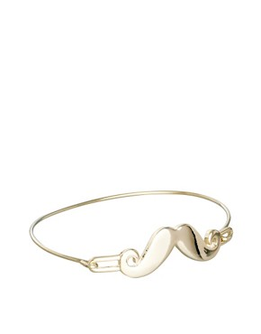 Image 1 ofLimited Edition Moustache Fine Bangle