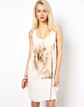 Image 1 ofReligion Skeleton Vest Dress