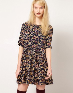 Image 1 of Paul and Joe Sister Day Dress in Winter Floral