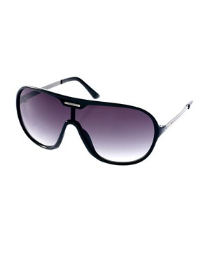 Image 1 ofJack &amp; Jones Moulded Aviator Sunglasses