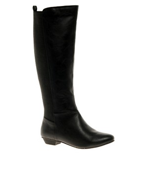Image 1 ofASOS CASPER Knee High Boots